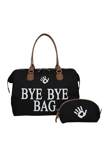 Bye Bye Bag Anne Bebek Bakım Çantası Siyah